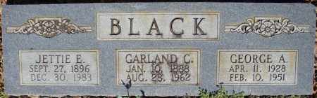 BLACK, GEORGE A. - Faulkner County, Arkansas | GEORGE A. BLACK - Arkansas Gravestone Photos