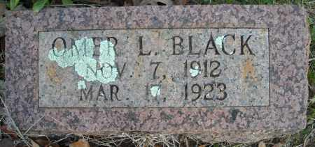 BLACK, OMER L. - Faulkner County, Arkansas | OMER L. BLACK - Arkansas Gravestone Photos