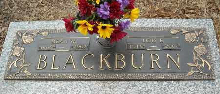 BLACKBURN, DEAN W. - Faulkner County, Arkansas | DEAN W. BLACKBURN - Arkansas Gravestone Photos