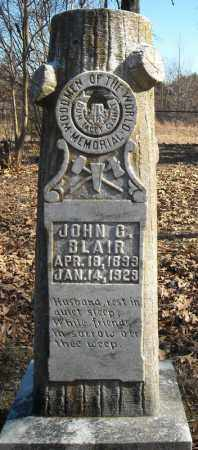 BLAIR, JOHN C. - Faulkner County, Arkansas | JOHN C. BLAIR - Arkansas Gravestone Photos