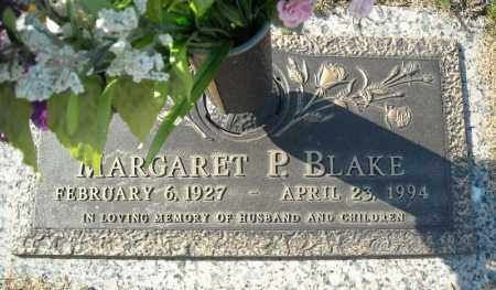 BLAKE, MARGARET P. - Faulkner County, Arkansas | MARGARET P. BLAKE - Arkansas Gravestone Photos