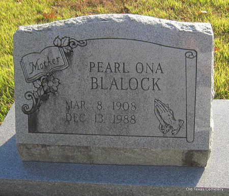 BLALOCK, PEARL ONA - Faulkner County, Arkansas | PEARL ONA BLALOCK - Arkansas Gravestone Photos