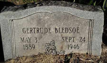 BLEDSOE, GERTRUDE - Faulkner County, Arkansas | GERTRUDE BLEDSOE - Arkansas Gravestone Photos