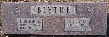 BLYTHE, DOLLY M. - Faulkner County, Arkansas | DOLLY M. BLYTHE - Arkansas Gravestone Photos