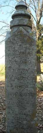 BOLDING, CALVIN P. - Faulkner County, Arkansas | CALVIN P. BOLDING - Arkansas Gravestone Photos