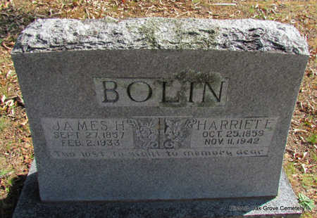 BOLIN, HARRIET E. - Faulkner County, Arkansas | HARRIET E. BOLIN - Arkansas Gravestone Photos