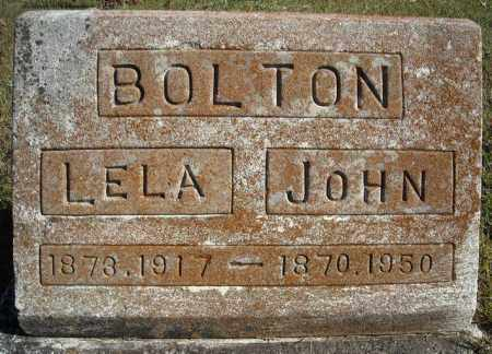 BOLTON, LELA - Faulkner County, Arkansas | LELA BOLTON - Arkansas Gravestone Photos