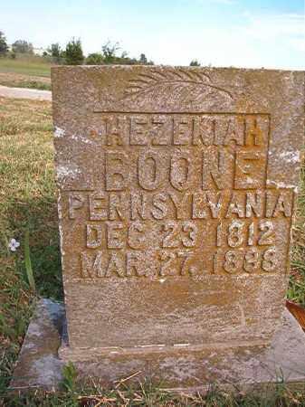 BOONE, HEZEKIAH - Faulkner County, Arkansas | HEZEKIAH BOONE - Arkansas Gravestone Photos