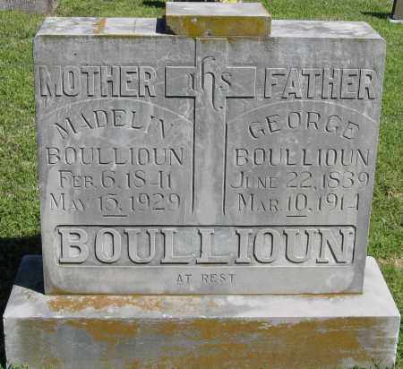 BOULLIOUN, GEORGE - Faulkner County, Arkansas | GEORGE BOULLIOUN - Arkansas Gravestone Photos