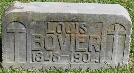 BOVIER, LOUIS - Faulkner County, Arkansas | LOUIS BOVIER - Arkansas Gravestone Photos