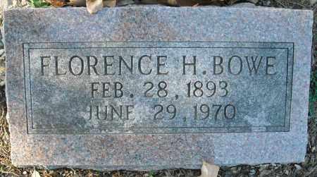 BOWE, FLORENCE H. - Faulkner County, Arkansas | FLORENCE H. BOWE - Arkansas Gravestone Photos