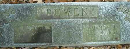 BOWEN, AMANDA J. - Faulkner County, Arkansas | AMANDA J. BOWEN - Arkansas Gravestone Photos