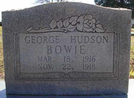 BOWIE, GEORGE HUDSON - Faulkner County, Arkansas | GEORGE HUDSON BOWIE - Arkansas Gravestone Photos