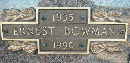 BOWMAN, ERNEST - Faulkner County, Arkansas | ERNEST BOWMAN - Arkansas Gravestone Photos