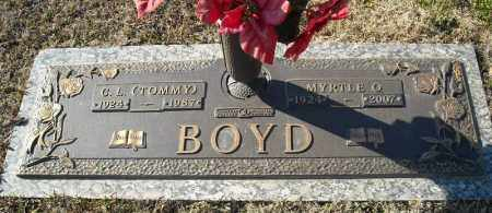 "BOYD, C.L. ""TOMMY"" - Faulkner County, Arkansas 