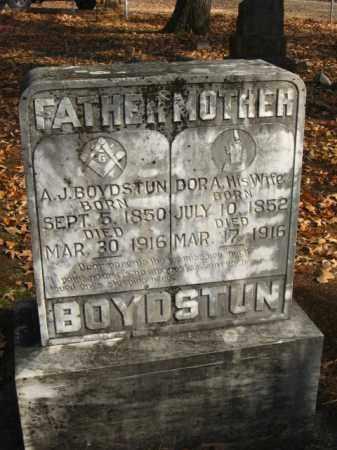 BOYDSTUN, ANDREW JACKSON - Faulkner County, Arkansas | ANDREW JACKSON BOYDSTUN - Arkansas Gravestone Photos