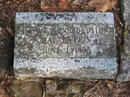 BOYDSTUN, INFANT SON - Faulkner County, Arkansas | INFANT SON BOYDSTUN - Arkansas Gravestone Photos