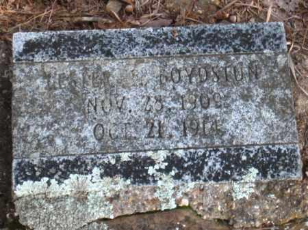 BOYDSTUN, LESTER F. - Faulkner County, Arkansas | LESTER F. BOYDSTUN - Arkansas Gravestone Photos
