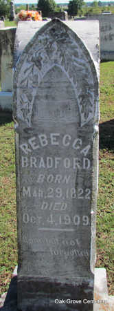 BRADFORD, REBECCA - Faulkner County, Arkansas | REBECCA BRADFORD - Arkansas Gravestone Photos
