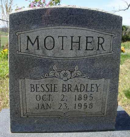 BRADLEY, BESSIE - Faulkner County, Arkansas | BESSIE BRADLEY - Arkansas Gravestone Photos