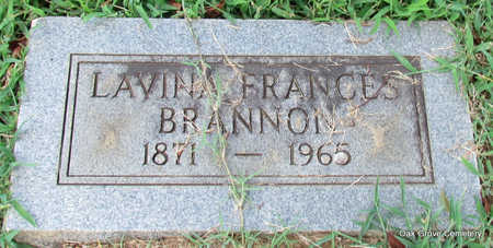 BRANNON, LAVINA FRANCES - Faulkner County, Arkansas | LAVINA FRANCES BRANNON - Arkansas Gravestone Photos