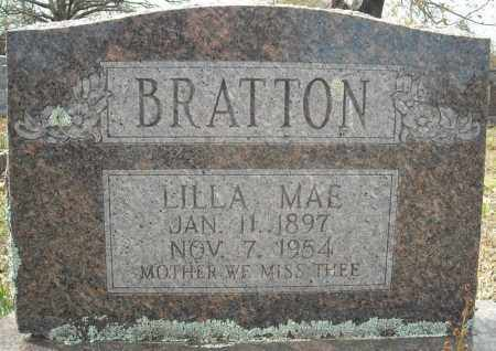 BRATTON, LILLA MAE - Faulkner County, Arkansas | LILLA MAE BRATTON - Arkansas Gravestone Photos