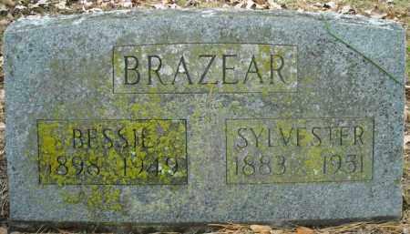 BRAZEAR, SYLVESTER - Faulkner County, Arkansas | SYLVESTER BRAZEAR - Arkansas Gravestone Photos