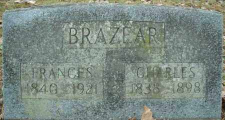 BRAZEAR, FRANCES - Faulkner County, Arkansas | FRANCES BRAZEAR - Arkansas Gravestone Photos