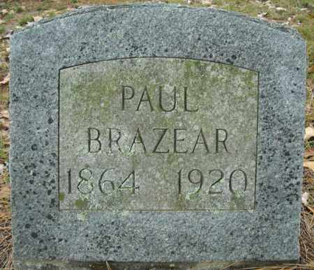 BRAZEAR, PAUL - Faulkner County, Arkansas | PAUL BRAZEAR - Arkansas Gravestone Photos