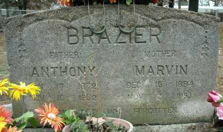 BRAZIER, ANTHONY - Faulkner County, Arkansas | ANTHONY BRAZIER - Arkansas Gravestone Photos
