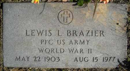 BRAZIER (VETERAN WWII), LEWIS L - Faulkner County, Arkansas | LEWIS L BRAZIER (VETERAN WWII) - Arkansas Gravestone Photos