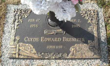 BRENIZER, CLYDE EDWARD - Faulkner County, Arkansas | CLYDE EDWARD BRENIZER - Arkansas Gravestone Photos
