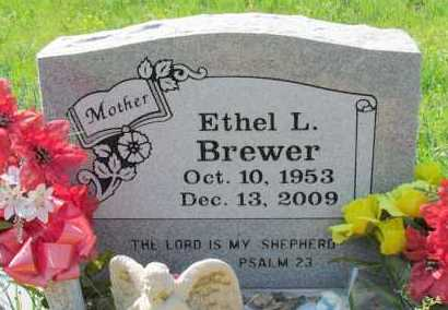 BREWER, ETHEL L - Faulkner County, Arkansas | ETHEL L BREWER - Arkansas Gravestone Photos