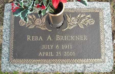 BRICKNER, REBA A. - Faulkner County, Arkansas | REBA A. BRICKNER - Arkansas Gravestone Photos