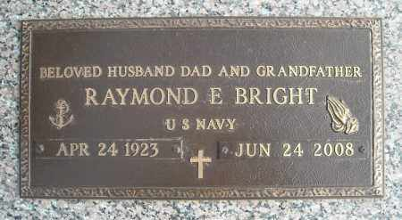 BRIGHT (VETERAN), RAYMOND E - Faulkner County, Arkansas | RAYMOND E BRIGHT (VETERAN) - Arkansas Gravestone Photos