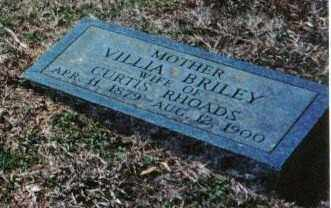 BRILEY, VILLIA - Faulkner County, Arkansas | VILLIA BRILEY - Arkansas Gravestone Photos