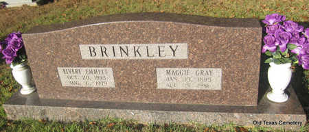 GRAY BRINKLEY, MAGGIE - Faulkner County, Arkansas | MAGGIE GRAY BRINKLEY - Arkansas Gravestone Photos