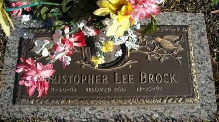 BROCK, CHRISTOPHER LEE - Faulkner County, Arkansas | CHRISTOPHER LEE BROCK - Arkansas Gravestone Photos