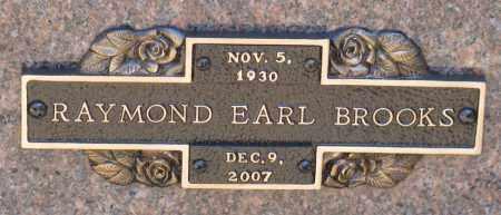BROOKS, RAYMOND EARL - Faulkner County, Arkansas | RAYMOND EARL BROOKS - Arkansas Gravestone Photos