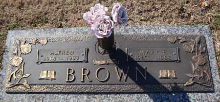 BROWN, ALFRED - Faulkner County, Arkansas | ALFRED BROWN - Arkansas Gravestone Photos