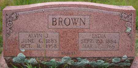 BROWN, ALVIN J. - Faulkner County, Arkansas | ALVIN J. BROWN - Arkansas Gravestone Photos