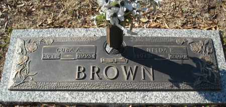 BROWN, NELDA E. - Faulkner County, Arkansas | NELDA E. BROWN - Arkansas Gravestone Photos