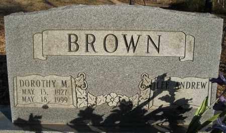 BROWN, DOROTHY M. - Faulkner County, Arkansas | DOROTHY M. BROWN - Arkansas Gravestone Photos