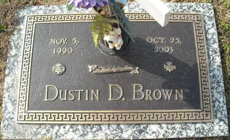 BROWN, DUSTIN D. - Faulkner County, Arkansas | DUSTIN D. BROWN - Arkansas Gravestone Photos