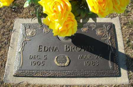 BROWN, EDNA - Faulkner County, Arkansas | EDNA BROWN - Arkansas Gravestone Photos