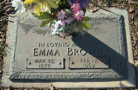 BROWN, EMMA - Faulkner County, Arkansas | EMMA BROWN - Arkansas Gravestone Photos