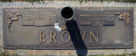 BROWN, OLLIE M. - Faulkner County, Arkansas | OLLIE M. BROWN - Arkansas Gravestone Photos