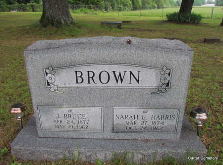 BROWN, J. BRUCE - Faulkner County, Arkansas | J. BRUCE BROWN - Arkansas Gravestone Photos