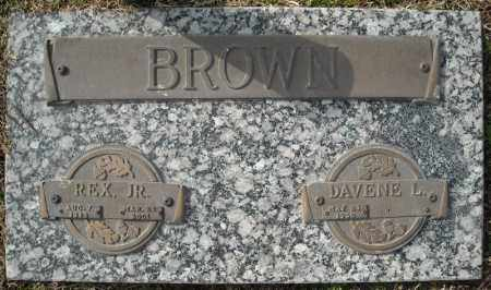 BROWN, JR., REX - Faulkner County, Arkansas | REX BROWN, JR. - Arkansas Gravestone Photos