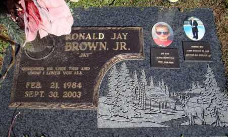 BROWN, JR., RONALD JAY - Faulkner County, Arkansas | RONALD JAY BROWN, JR. - Arkansas Gravestone Photos